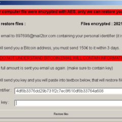 Schwerer Ransomware Note Image