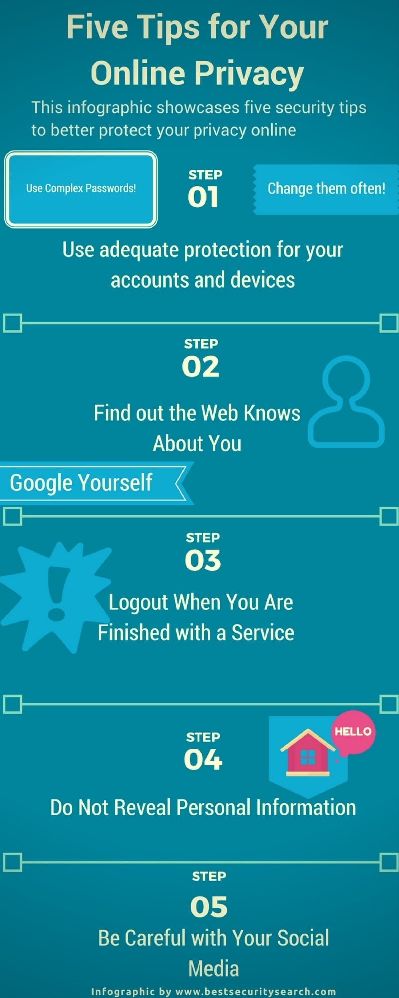 Five-Tips-for-Your-Online-Privacy-Infographic-Protect-Yourself-Bestsecuritysearch