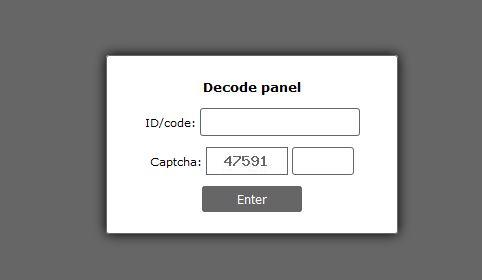 UIWIX ransomware virus login page image