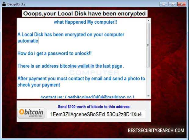 DecrptOr Ransomware image
