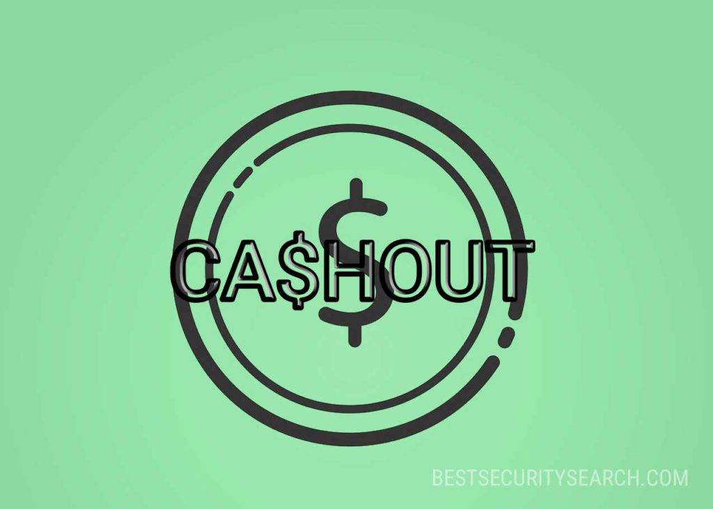 CA$HOUT Ransomware virus ransomware note image