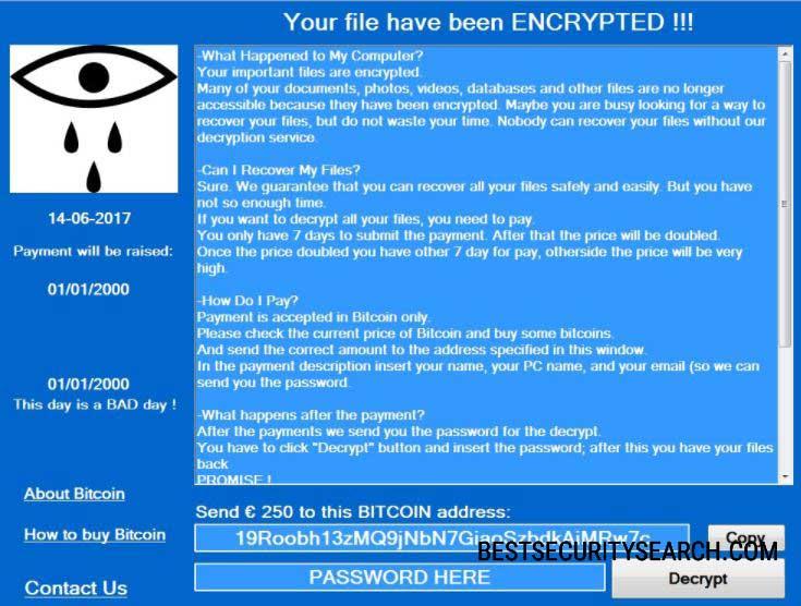 CryForMe Virus image