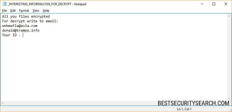 Azer CryptoMix Ransomware image