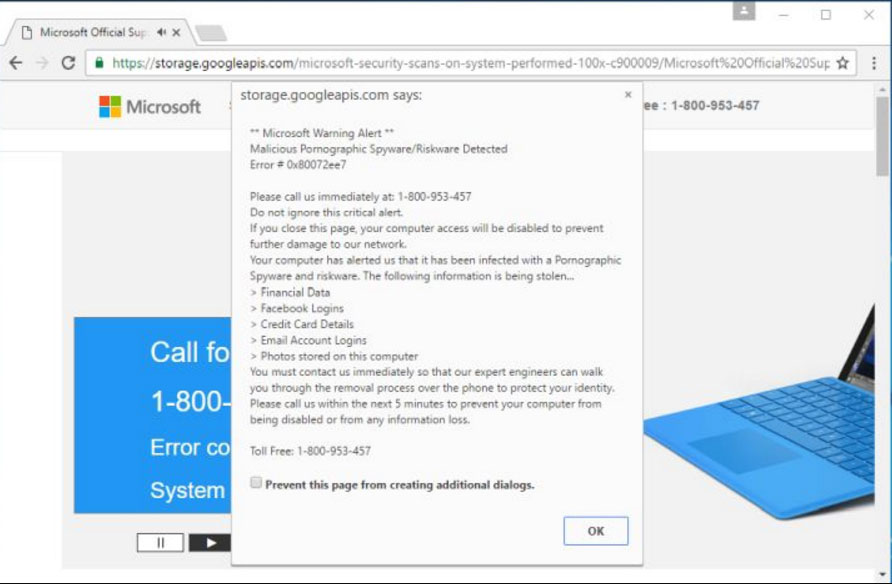 How To Remove Microsoft Warning Alert Pop Up Virus