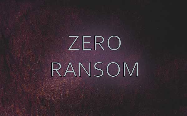 Zero Ransom ransomware featured image