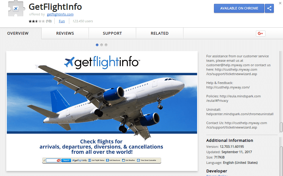 GetFlightInfo Redirect image