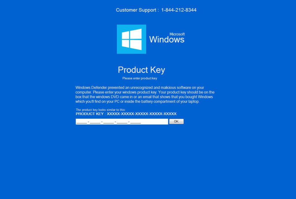 Microsoft Windows Locker image