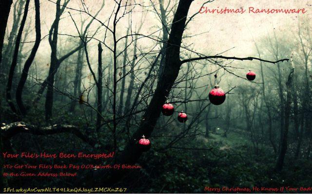 Christmas ransomware