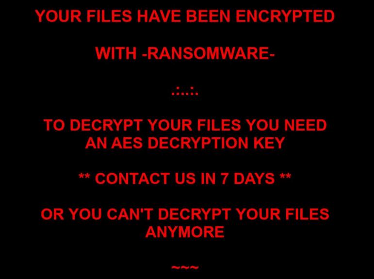 .ransom virus