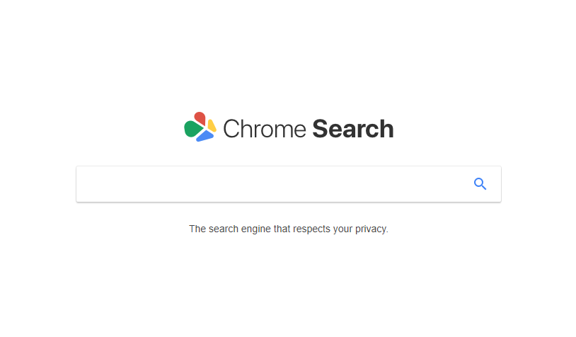 Chromesearch redirect image