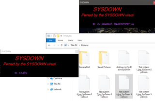 SYSDOWN virus